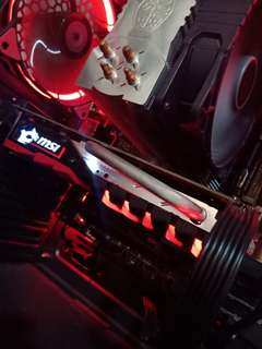 I3 6th MSI 1050ti CPU