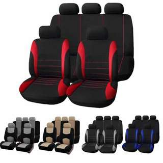 9PCS CAR SEAT COVER