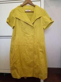 Dress Coat kuning