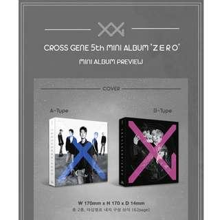 [PREORDER] CROSS GENE (크로스진) - ZERO (5TH Mini Album)