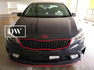 Plasti dip your car 🚗 Plastidip Hyundai Cerato K3