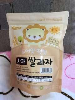 韓國 NAEBRO 米餅-蘋果