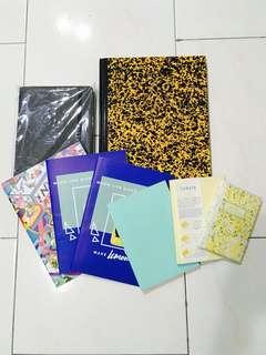 Multi-Coloured Notebooks/Journal/Diary