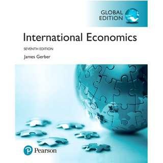 International Economics 7th Global Edition