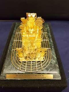 🚚 s.哥倫比亞黃金博物館金器擺飾品