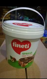 Finetti chocolate spread 1kilo
