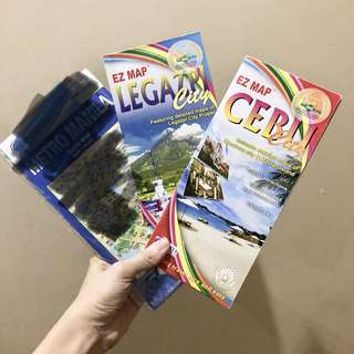 Maps - Legazpi and Cebu City