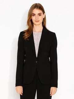 Portmans black suit and jacket black sz 6 never worn