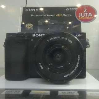 Sony ILCE-6300 DP 0% Cukup Admin 199.000 Tanpa Kartu Kredit