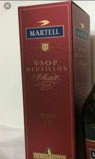 舊版馬爹利VSOP700ml酒盒一個