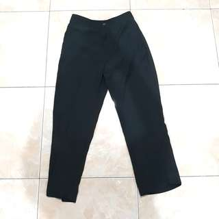 St Yves Dark Grey Woman Pants ( Celana Panjang )