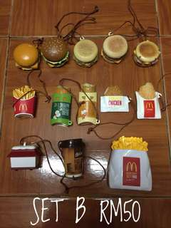McDonalds Miniature Set B