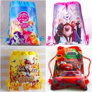 Kids Birthday Goodie Bag / Drawstring Bag