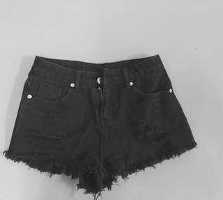 🚚 黑色短褲M