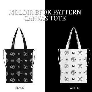 韓國官方代購) JYJ 金在中 Moldir Logo帆布袋 Tote Bag