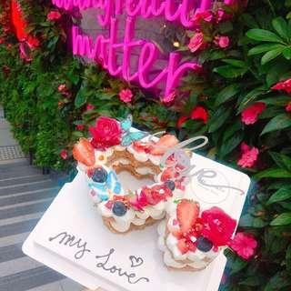 Miss Marble 心心蛋糕