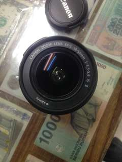 Lens canon 18-55mm