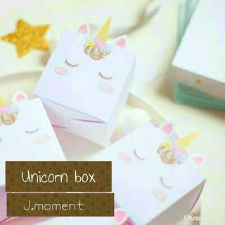 [PO] 🦄 Unicorn Gift Box