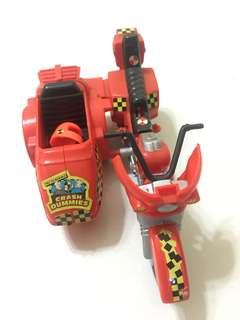 Crash Dummies Motor Bike Toy