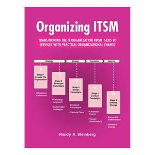 Organizing Itsm: Transitioning the It Organization from Silos to Services with Practical Organizational Change Kindle Edition by Randy A. Steinberg  (Author)