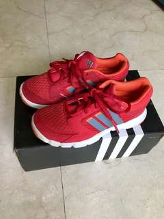Adidas original red shoes boys