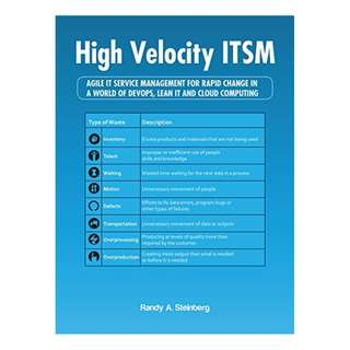 High Velocity Itsm: Agile It Service Management for Rapid Change in a World of Devops, Lean It and Cloud Computing Kindle Edition by Randy A. Steinberg  (Author)