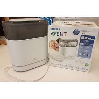 Philips AVENT 4 in 1 Electric Steam Steriliser (Normal price S$129 for new one on Lazada)