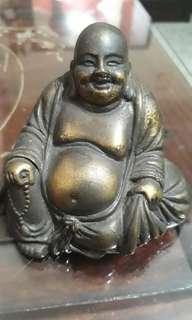 Buddha / vintage fat Buddha bronze fugerine for relaxation meditation