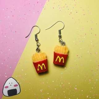 Fries Earring
