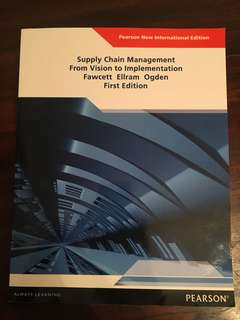 Supply chain management, from vision to implementation