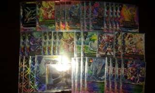 Buddyfight prism dragon athora rush deck
