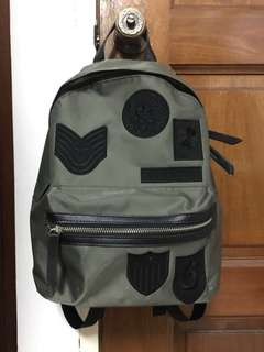 H:connect Backpack army green