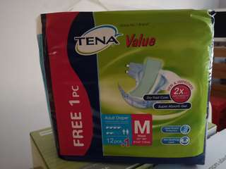 Tena Adult Diapers - Size M