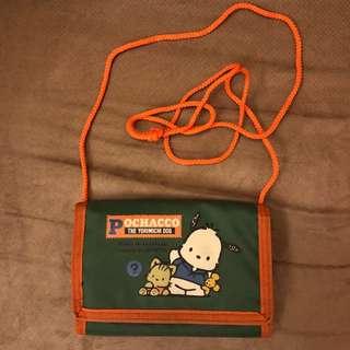 Pochacco側背包/銀包  PC狗絕版Sanrio1994