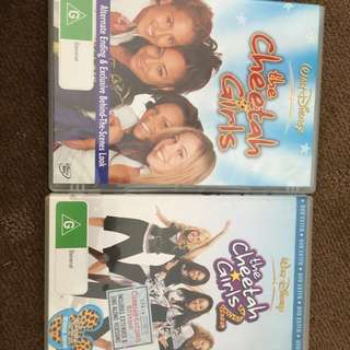 The Cheetah Girls Movie Set Of 2