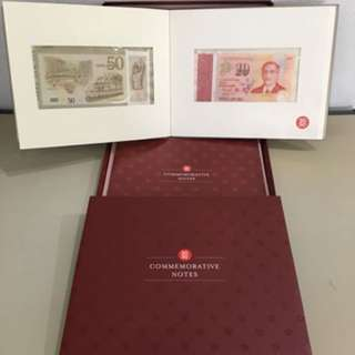 SG50 comemmorative notes