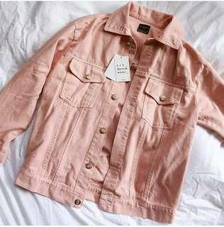 Oversize Jacket Pink Zarra