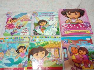 Dora the explorer set of 5 stories books