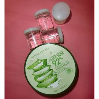 [SHARE IN JAR] Nature Republic Aloe Vera 92% Soothing Gel