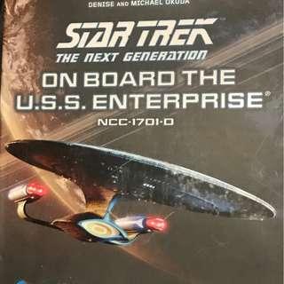 Star Trek on board the USS enterprise