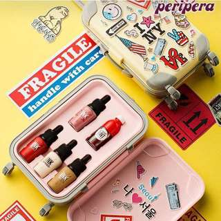 ✨INSTOCK! Peripera Fashion People's Carrier Luggage Mini Ink Set