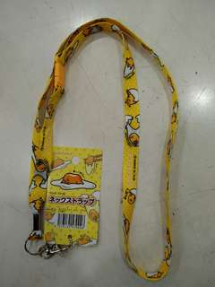 Authentic Sanrio Gudetama Strap Card Holder