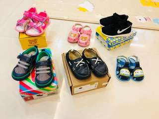 Baby boy and baby girls shoes clearance!