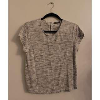 Cotton On Grey/White Shirt