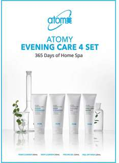 Atomy cleansers 4 set