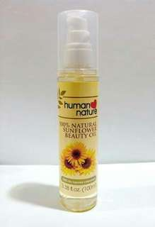 Sunflower Oil and Facial Gel