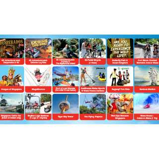 Sentosa attraction tkts @ cheap rate