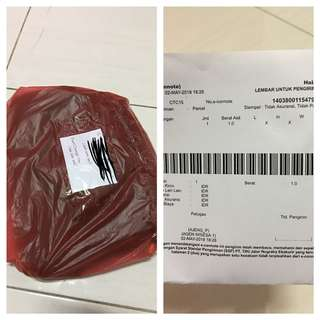 Thanks for order