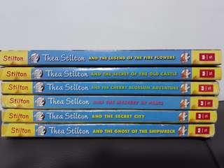 Geronimo Stilton; Thea Stilton