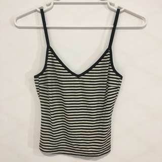 General Pants Striped Ribbed top